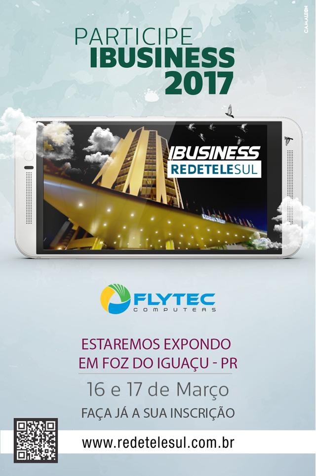 Ibusiness 2017 - informações, banner divulgação
