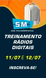 Treinaento Radios Digitais SIAE - 11 e 12/07/2018