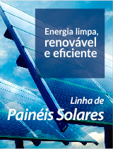Linha de Painéis Solares