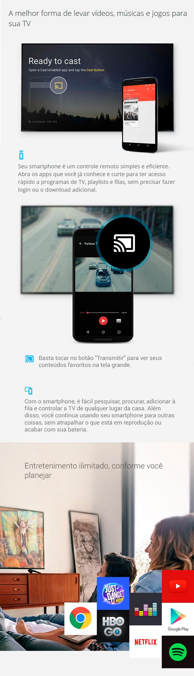 Apresentação Google Chromecast 2