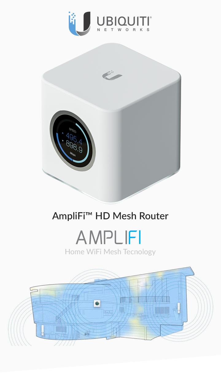 AmpliFi Mesh Router - Apresentação
