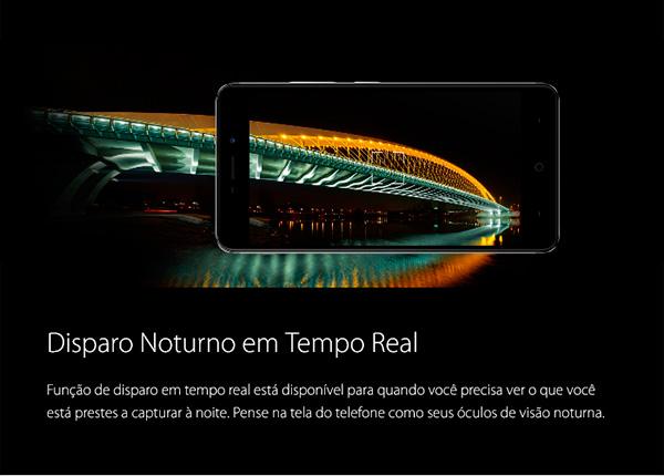Neffos X1 - feature 4 - Disparo noturno em tempo real