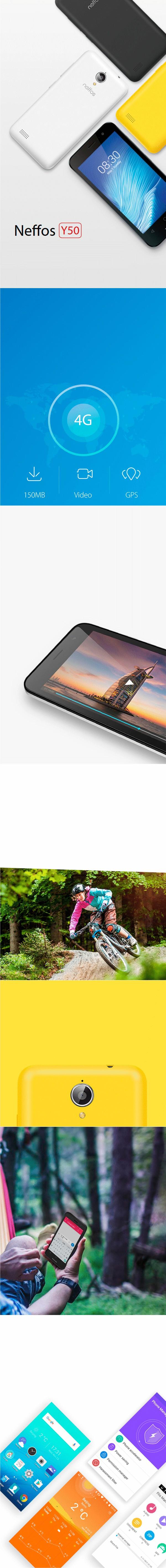 Apresentação Smartphone TP-Link Neffos Y50